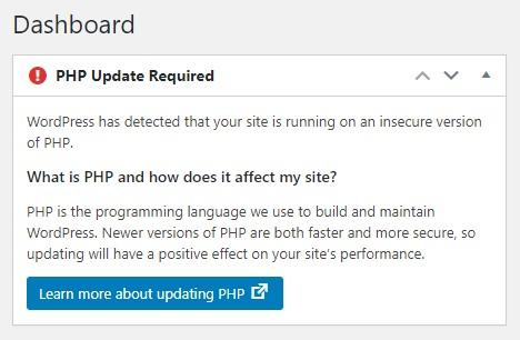 השפעת PHP גירסה 8 על וורדפרס